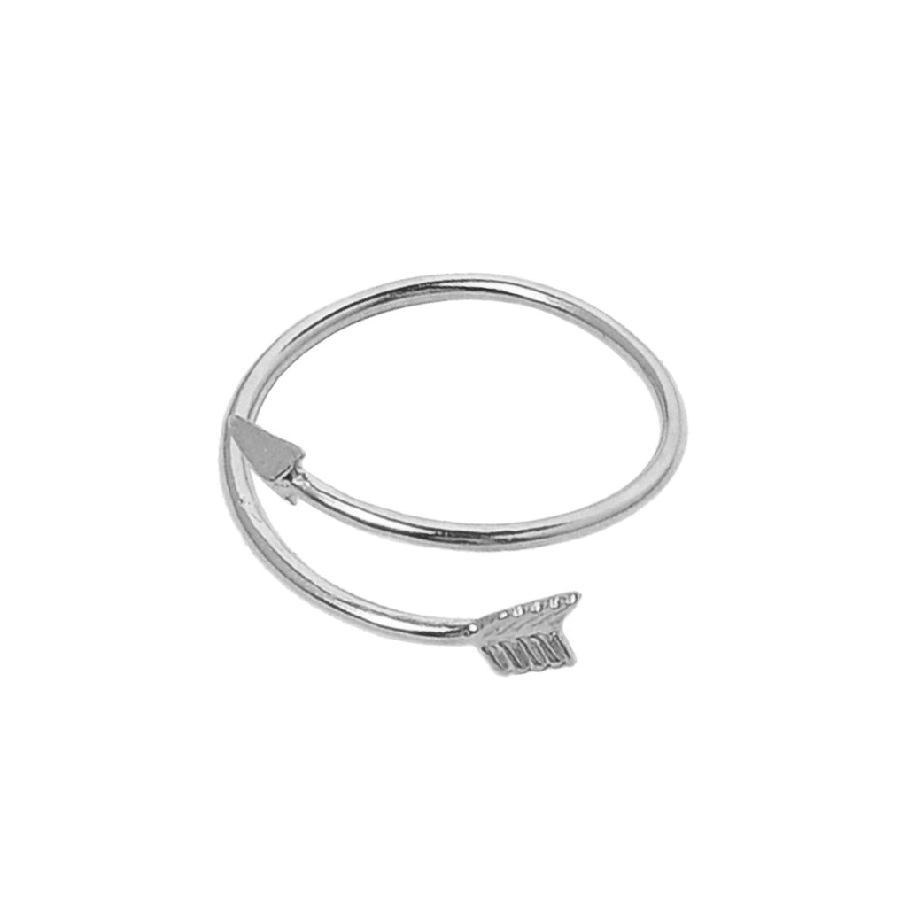 Arrow Midi Ring - Silver