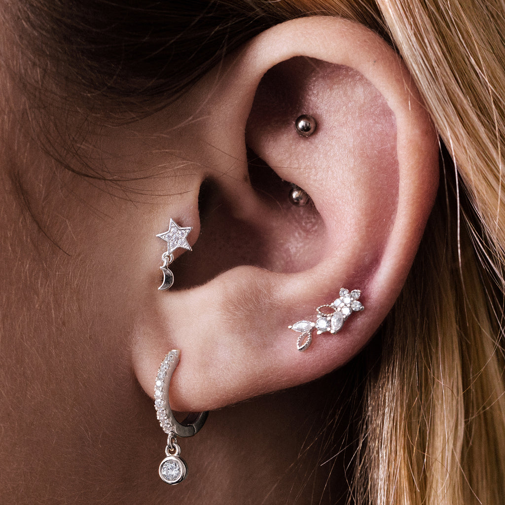 Diamond Sky Piercing - Gold