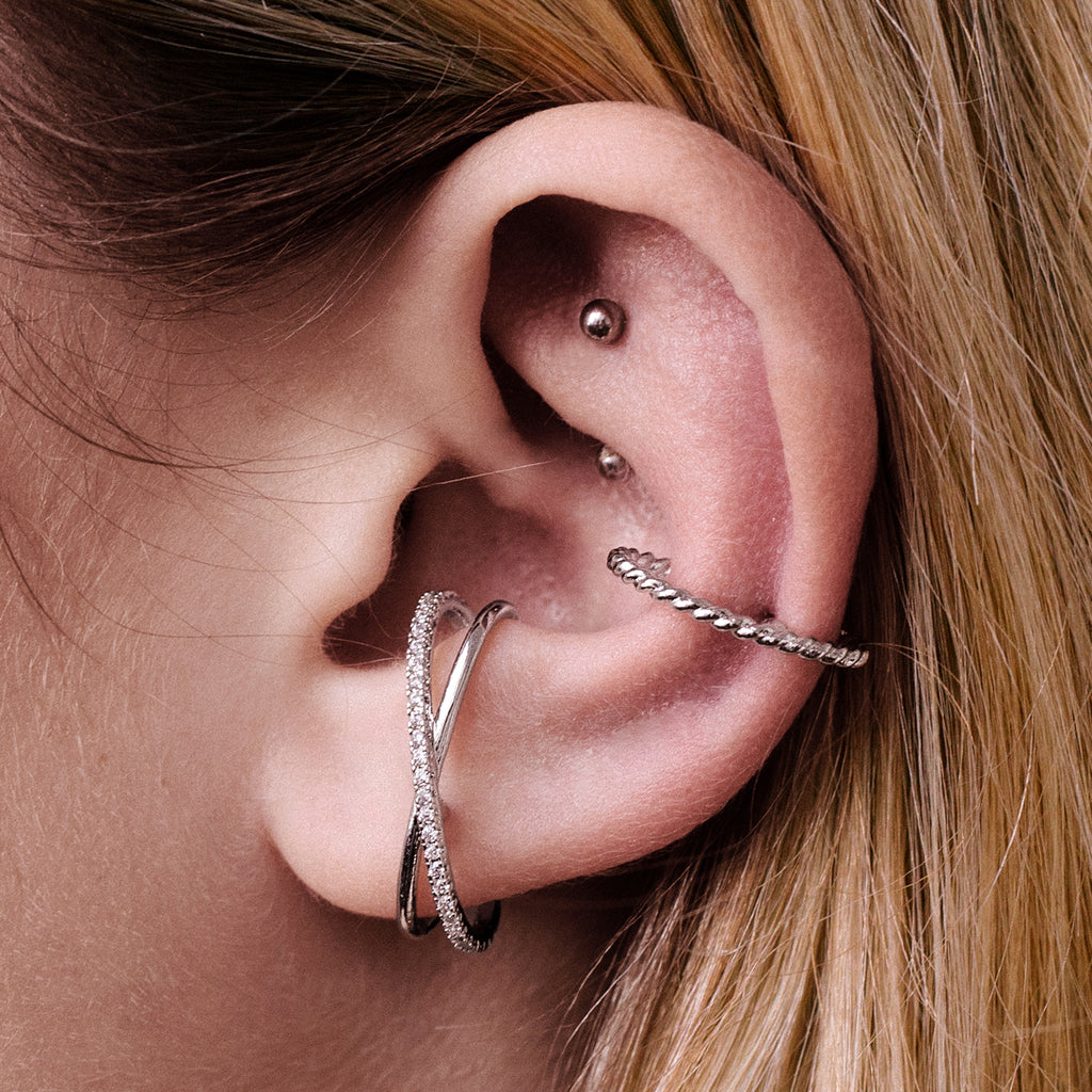Memory Cuff Piercing - Rose Gold