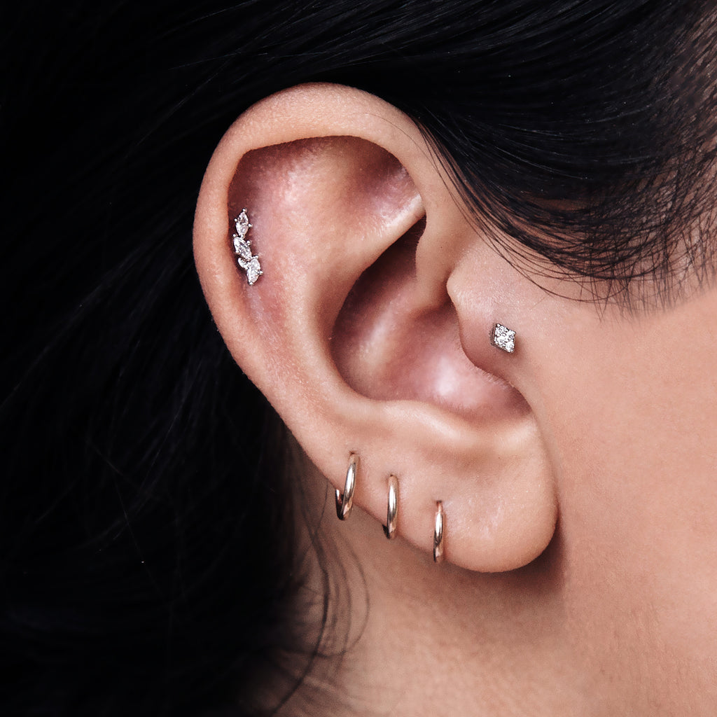 Metropolis Piercing - Rose Gold