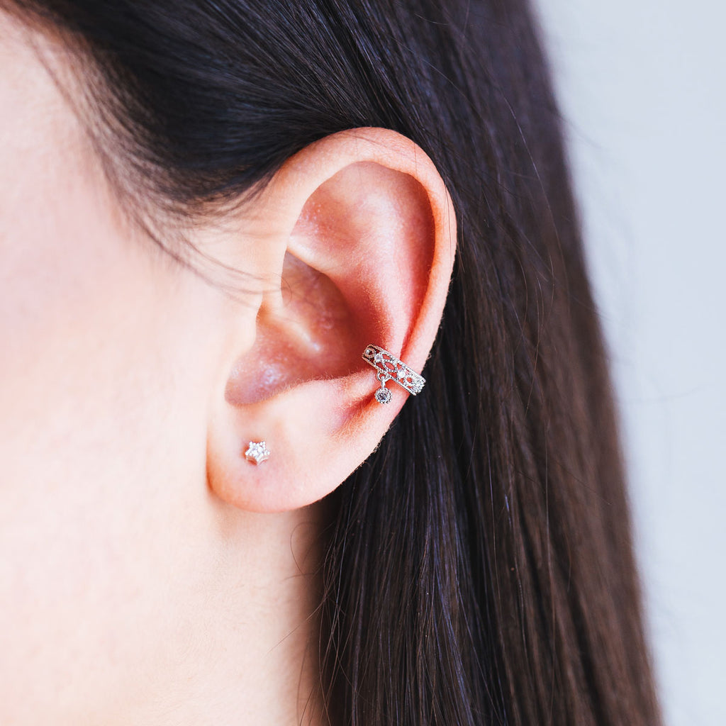 Vienna Ear Cuff - Rose Gold