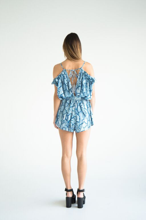 Envy Off Shoulder Playsuit
