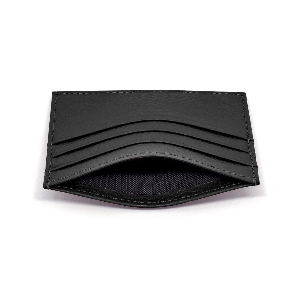 Malibu Leather Cardholder side - black