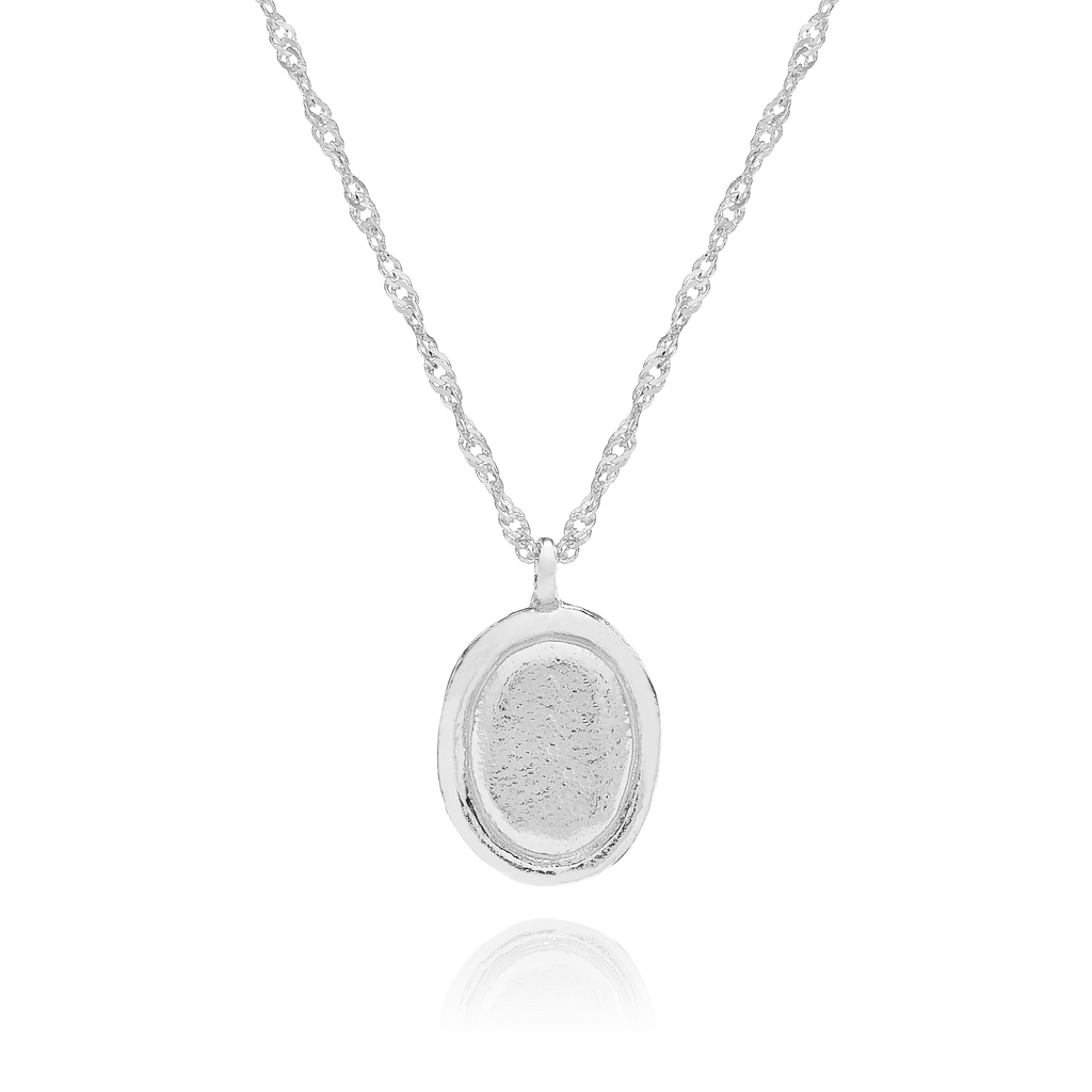 Agnes Pendant Necklace - sterling silver