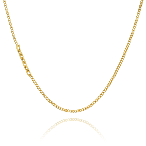 Asymptote Chain Necklace - gold