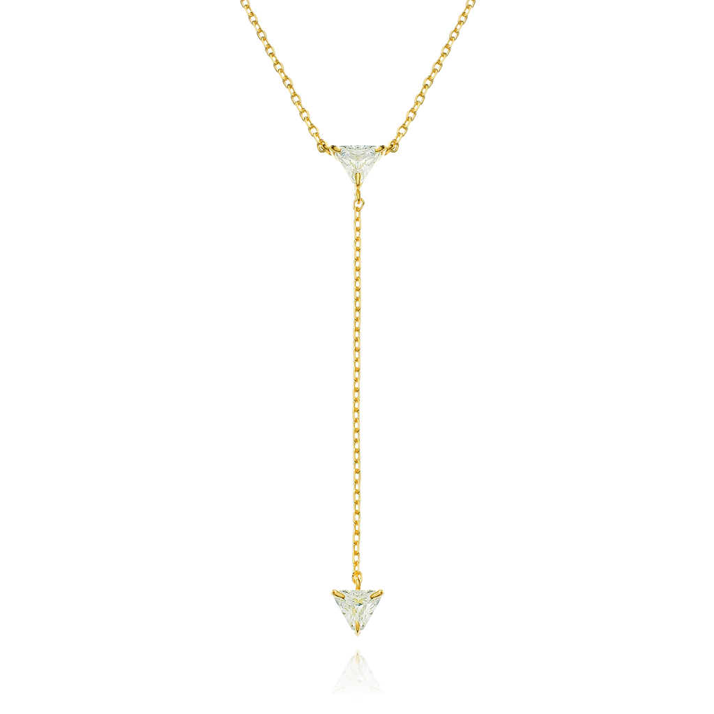 Legacy Pendulum Chain Necklace - gold