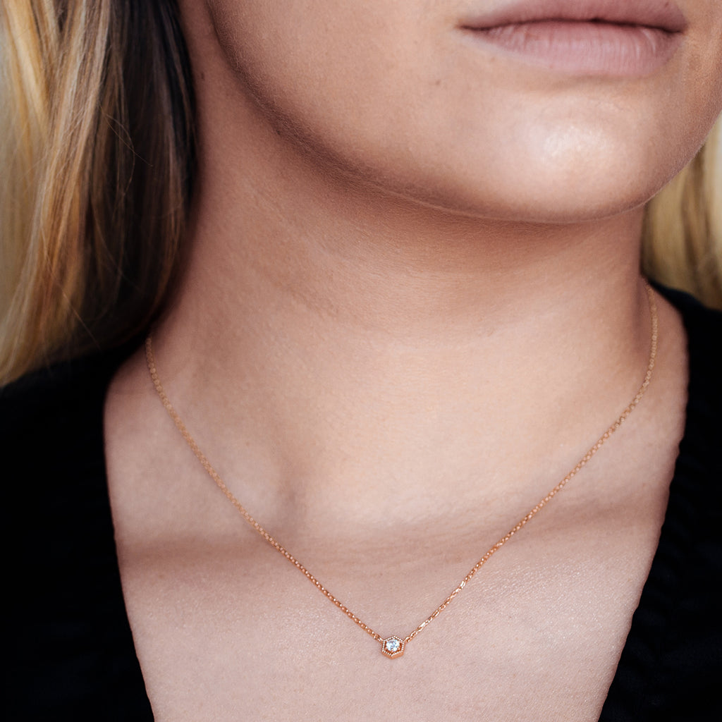 Citadel Necklace - Gold