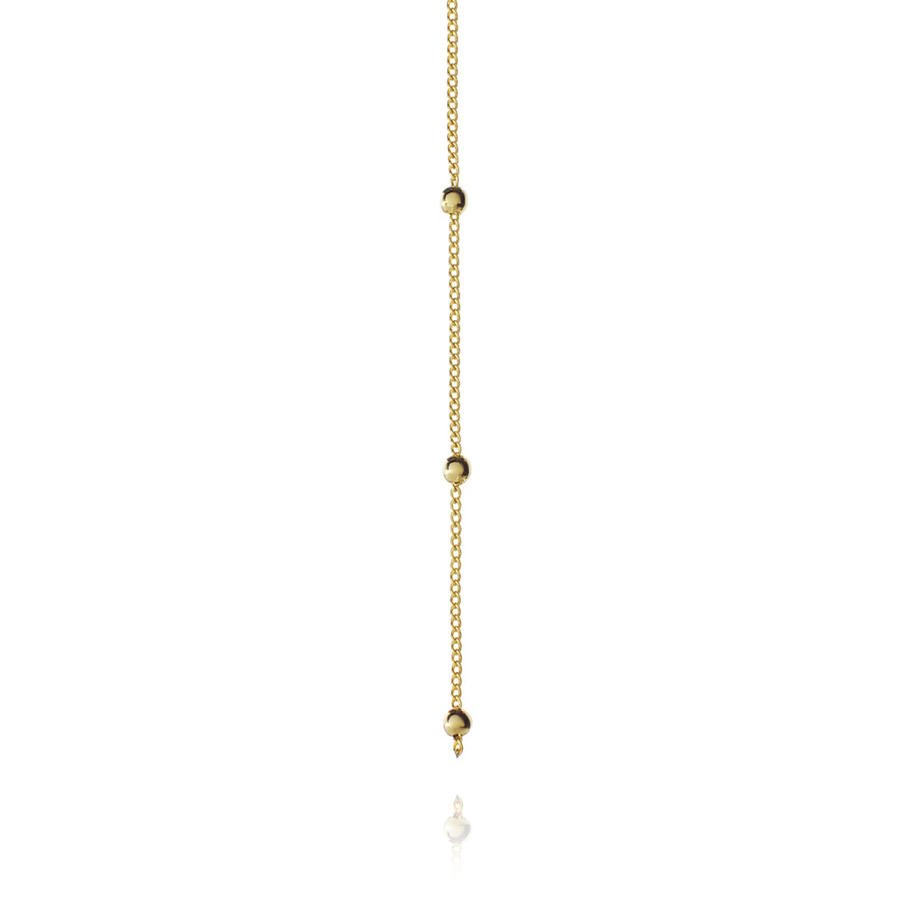 Veronica Drop Chain Necklace 2 - gold