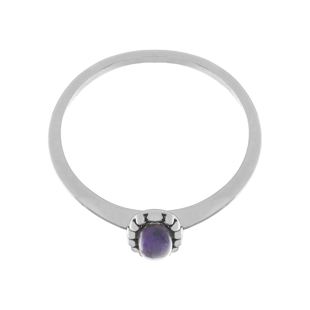 Essence Ring side view - Amethyst