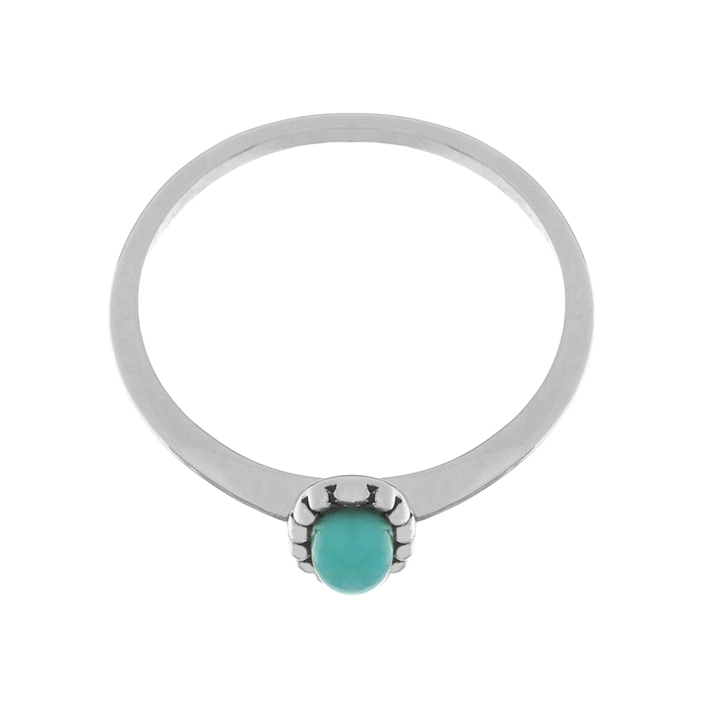 Essence Ring side view - Turquoise