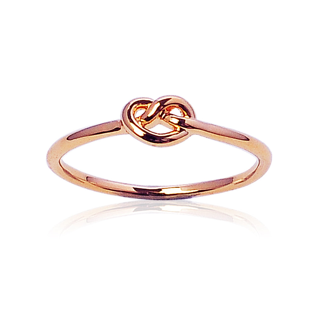 Love knot ring - Rose Gold