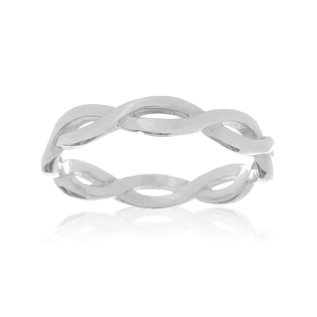 Lace Ring - sterling silver