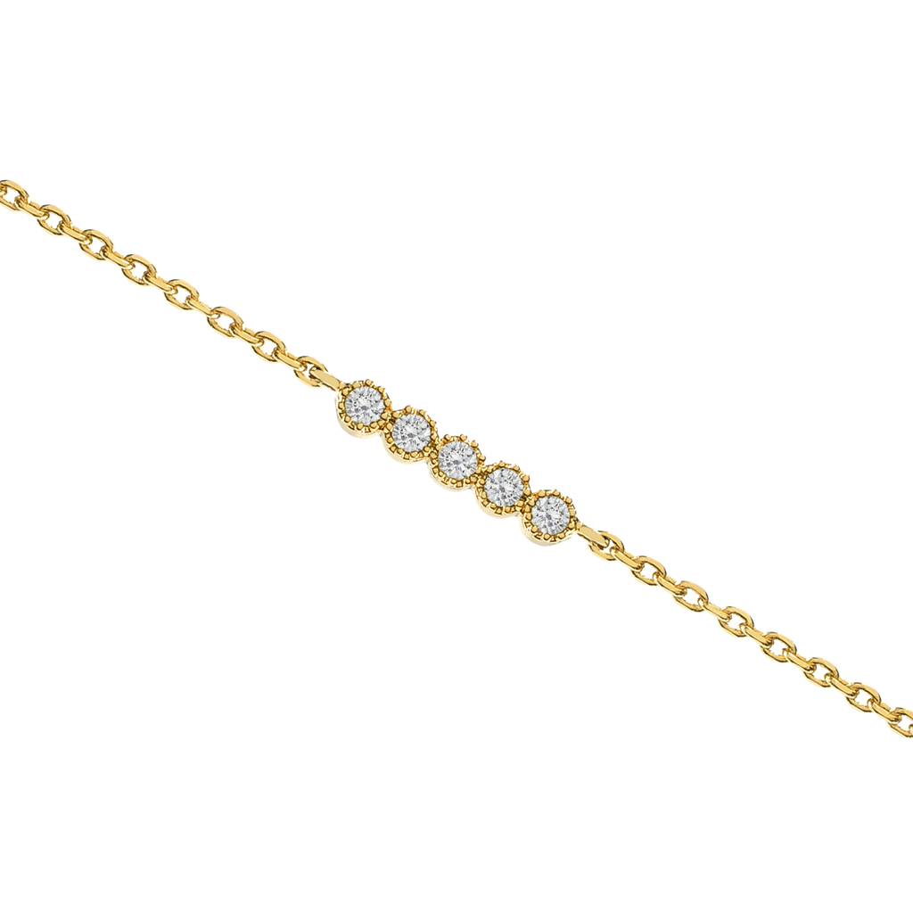 Vive Gemstone Bracelet - gold
