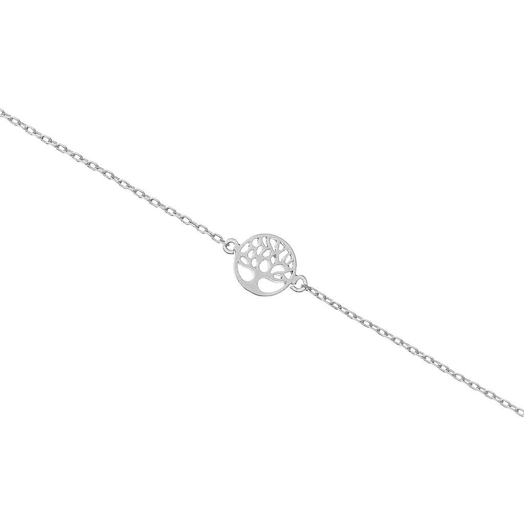 Mini Tree of Life Bracelet - silver