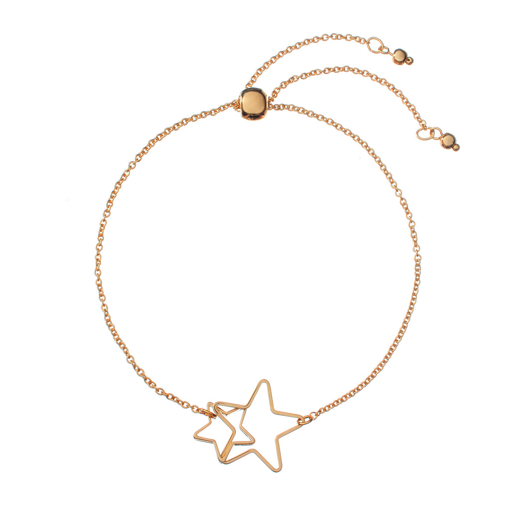 Starbound Bracelet - rose gold