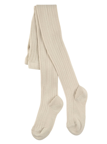 Condor Linen Ribbed Tights