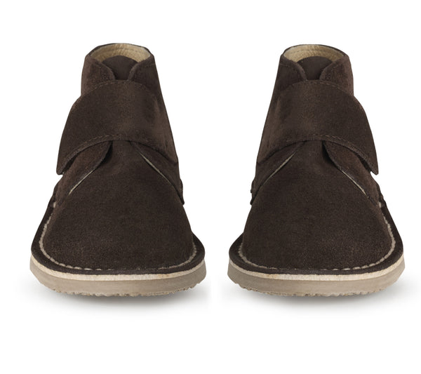 chocolate brown desert boots - ONLY 2 PAIRS LEFT