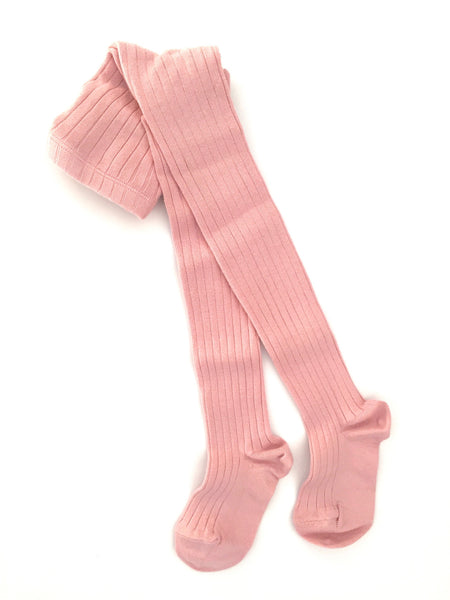 Condor Rose Ribbed Tights