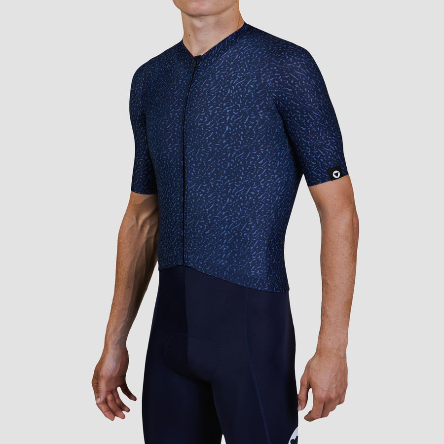 Men's Essentials TEAM Jersey - Texture Midnight