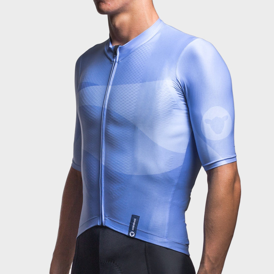 Team Collection Men's Wave Blue Jersey