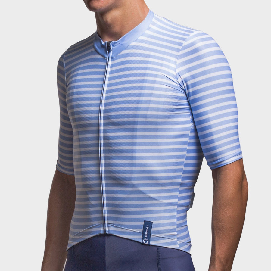Team Collection Men's Stripes Light Blue Jersey