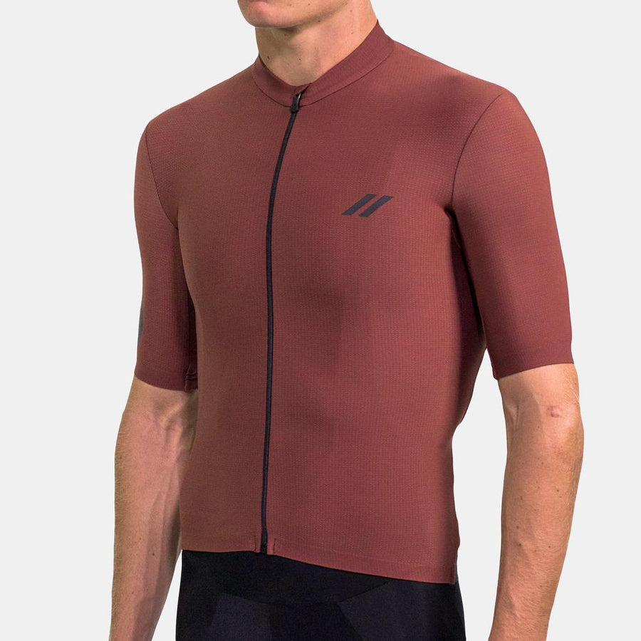 Elements Thermal Short Sleeve - Burgundy