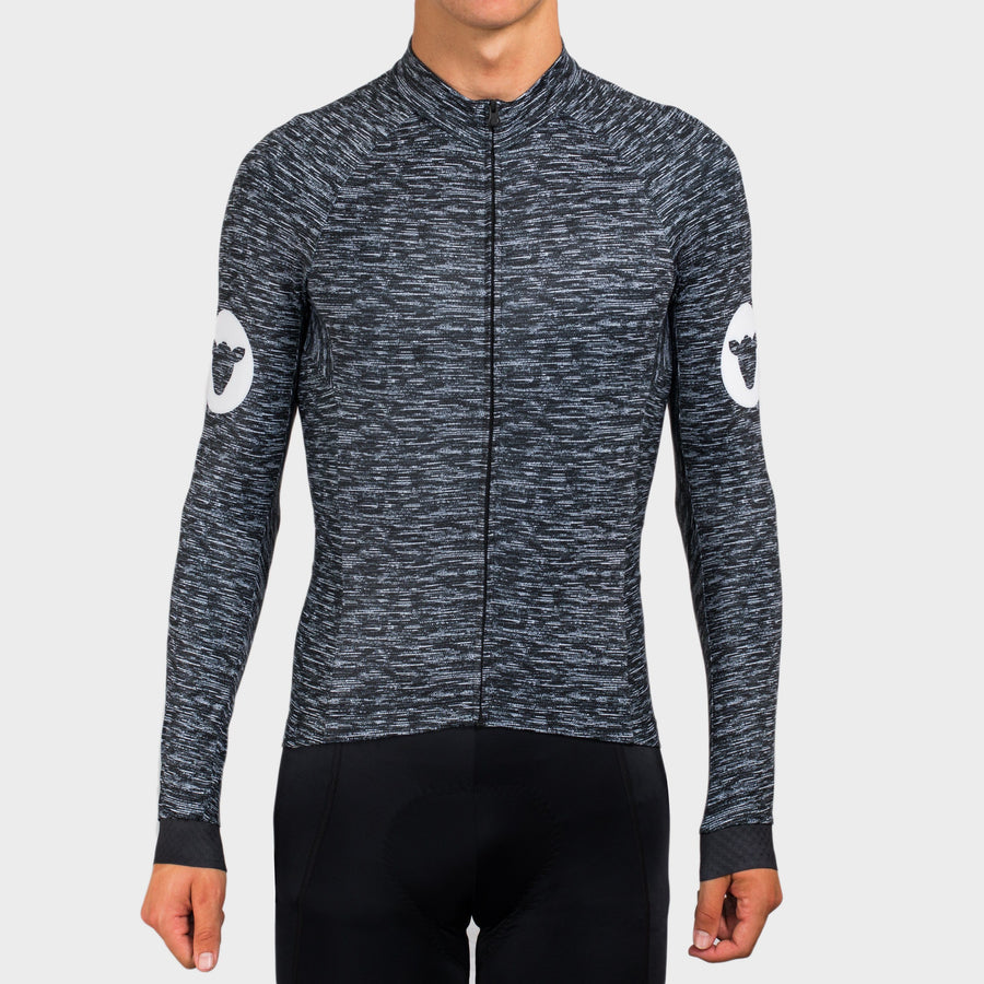 Classic Long Sleeve Jersey - Black Chaos
