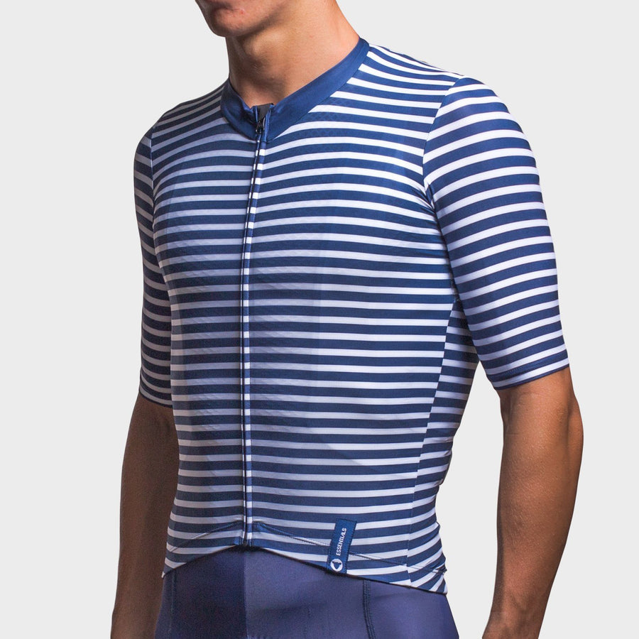 Team Collection Men's Stripes Navy White Jersey