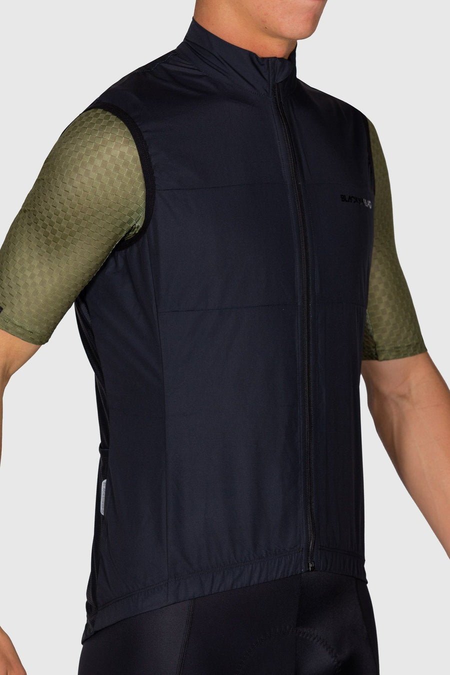 Euro Collection Men's Black Wind Vest