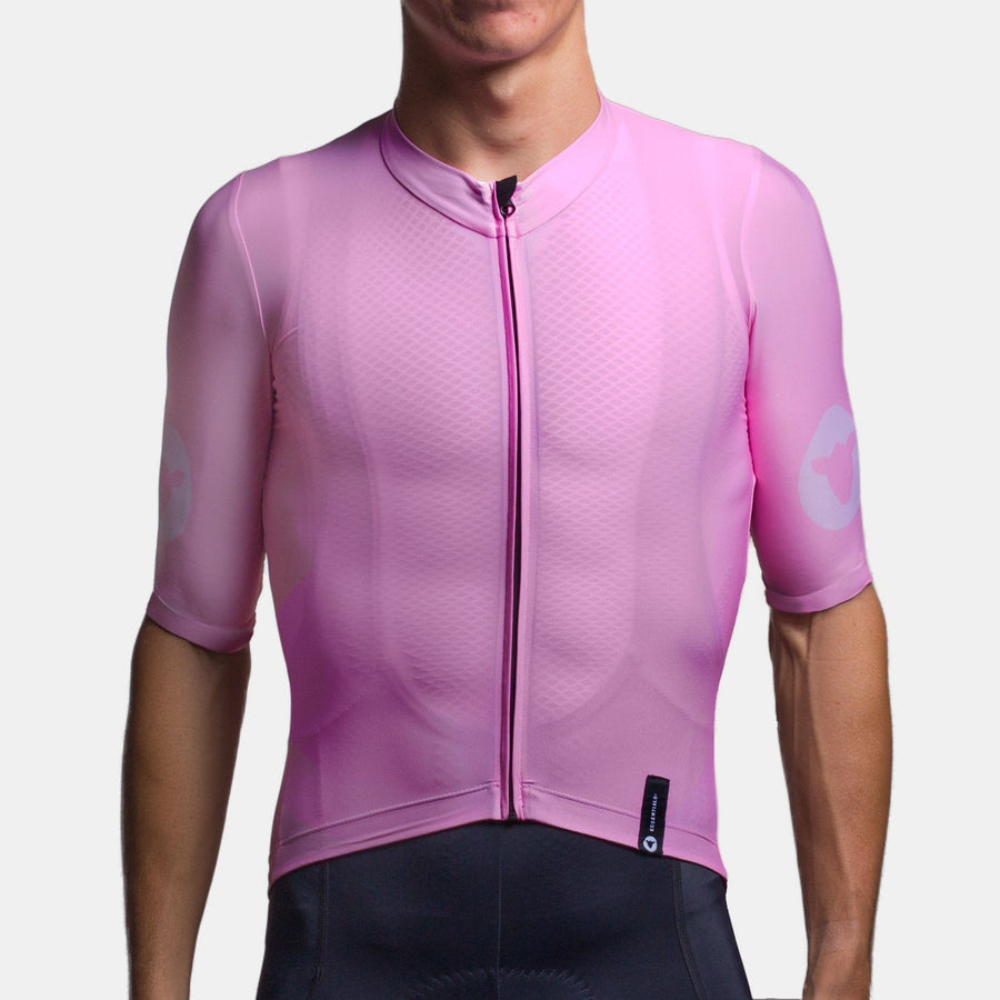 Team Collection Men's Block Pink Jersey