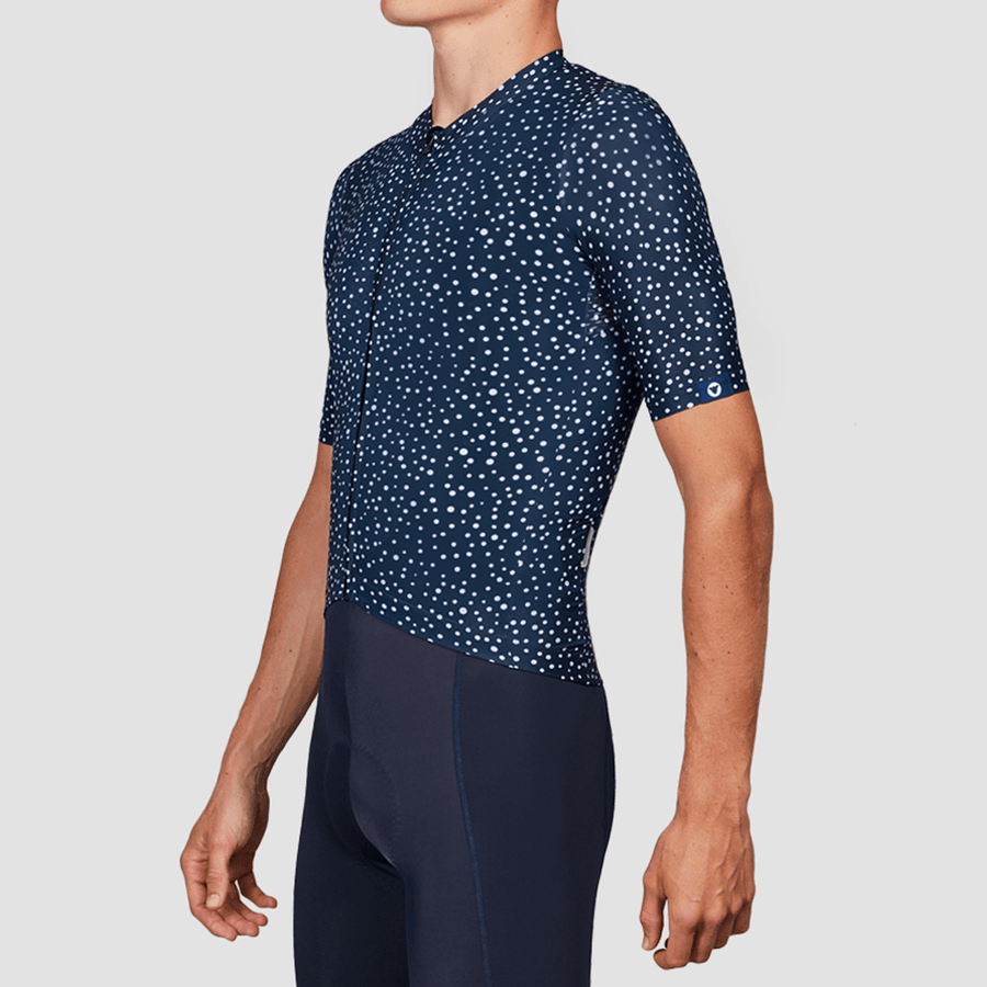Men's TC19 Dot Jersey - Navy Blue