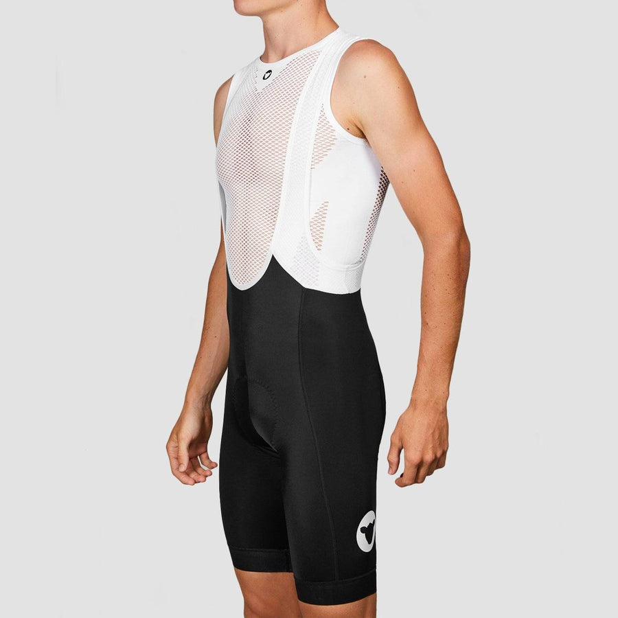 Men's TC19 Bib and Brace - Black