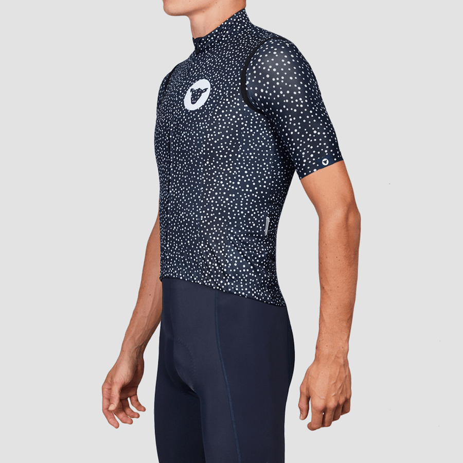 Men's TC19 Dot Vest - Navy