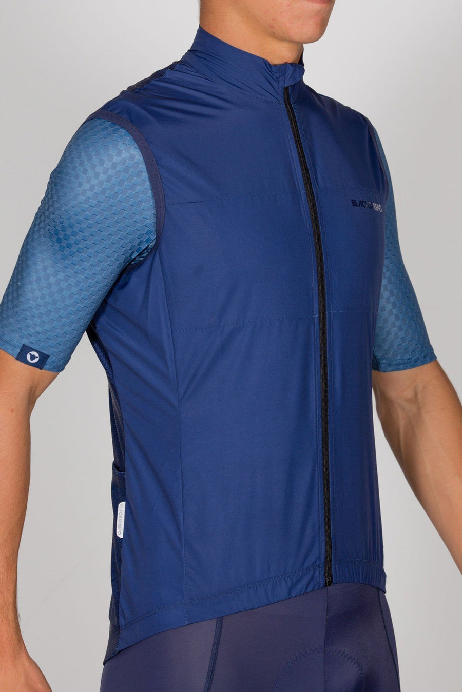 Euro Collection Men's Navy Wind Vest