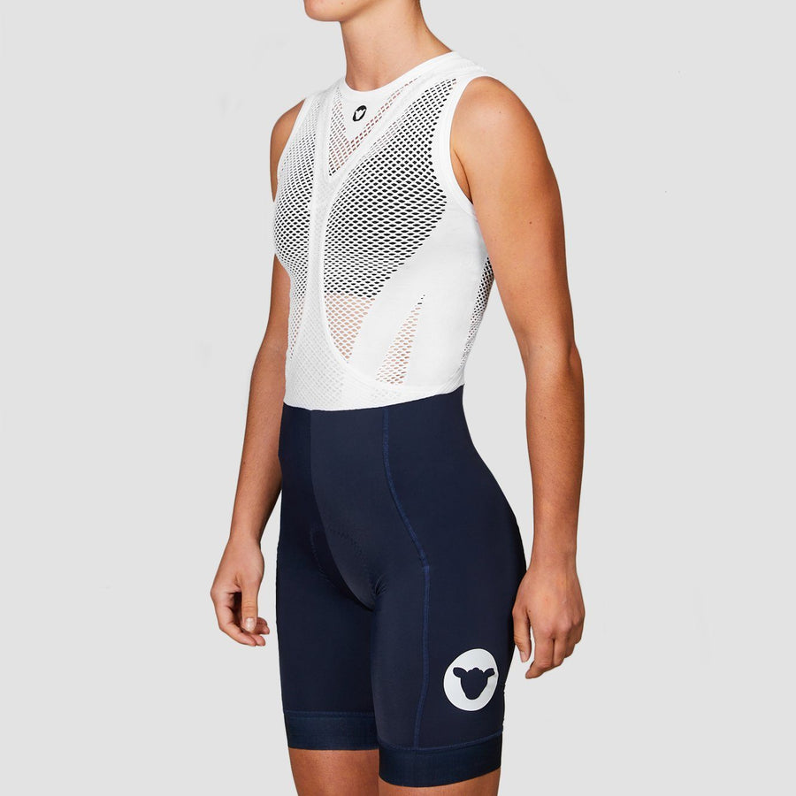 Women's TC19 Bib and Brace (Short Length) - Navy