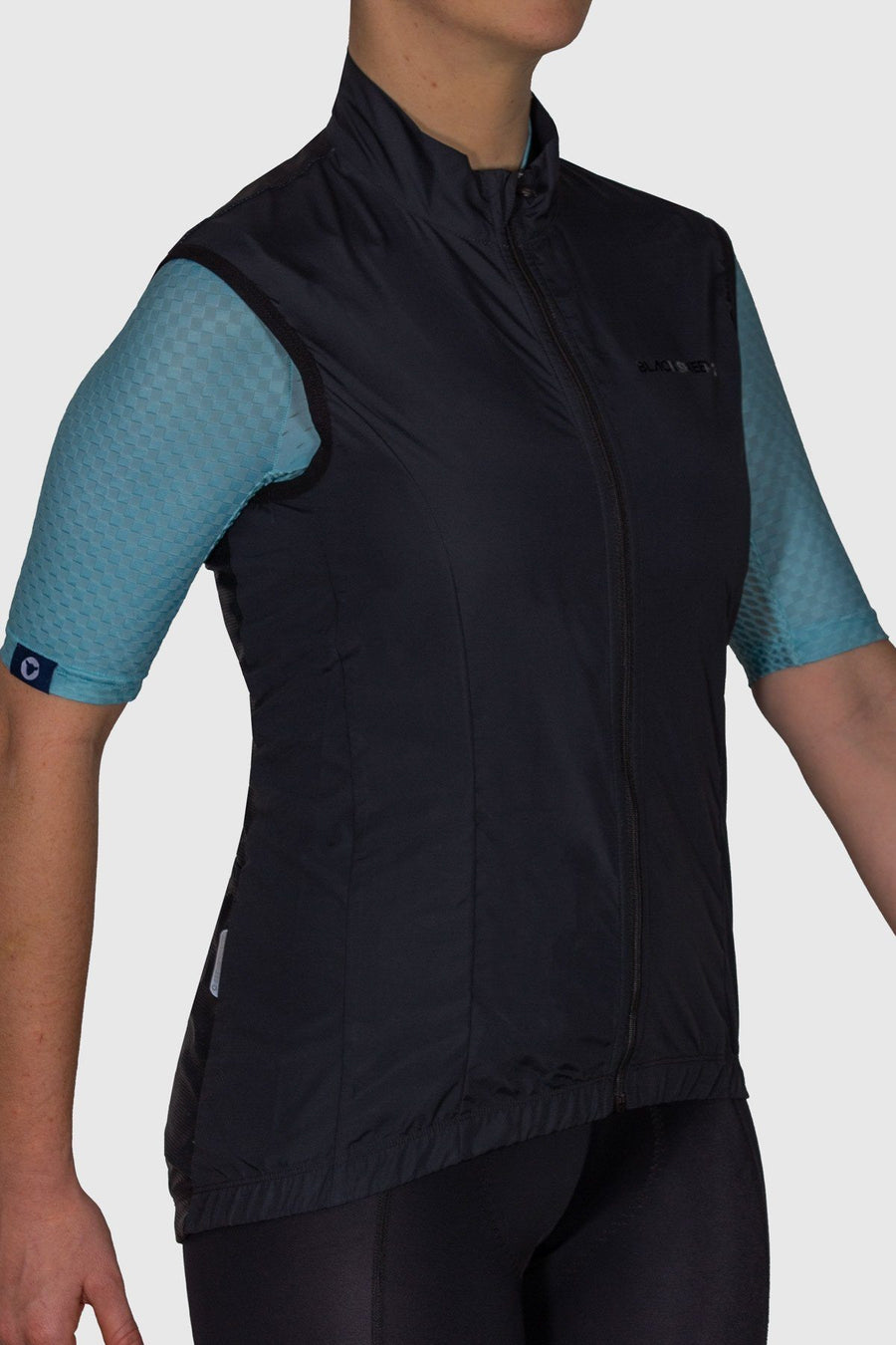 Euro Collection Women's Black Wind Vest