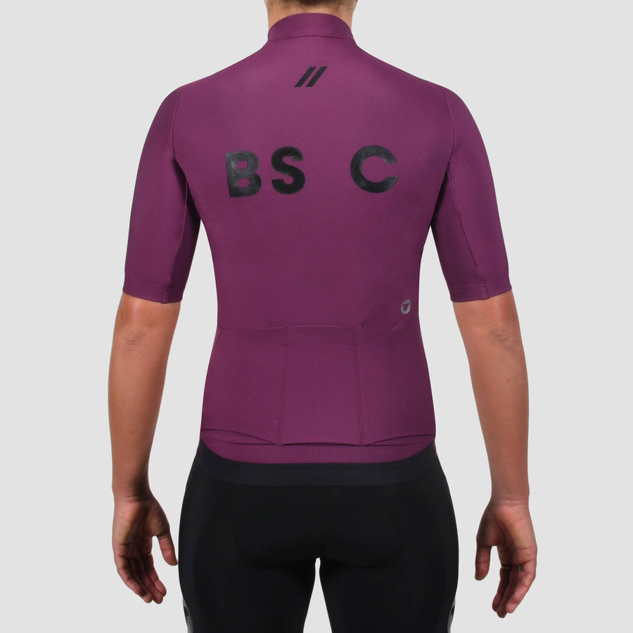 Women's Elements Thermal SSJersey - Plum