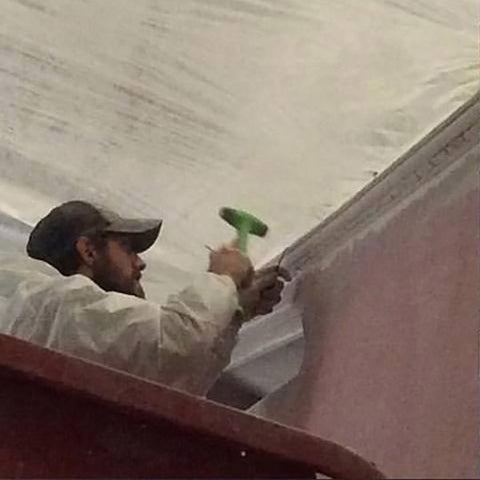 Viking Yacht Paint Prep