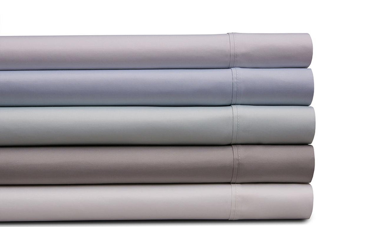 Spectrum Home Cotton Rich T-340 Silver Sheet Set