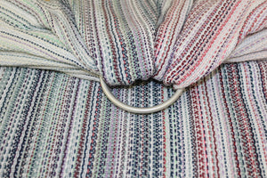 Hand Woven Ring Sling - 2.0m Emerson - Chambray Weft - Pebble Weave