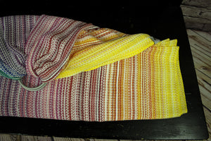 Hand Woven Ring Sling - 2.0m Brighter Days - Blanchi Weft - Pebble Weave