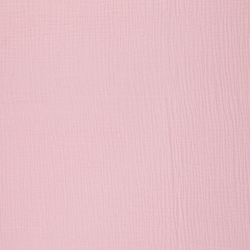 Cotton Double Gauze, Light Pink
