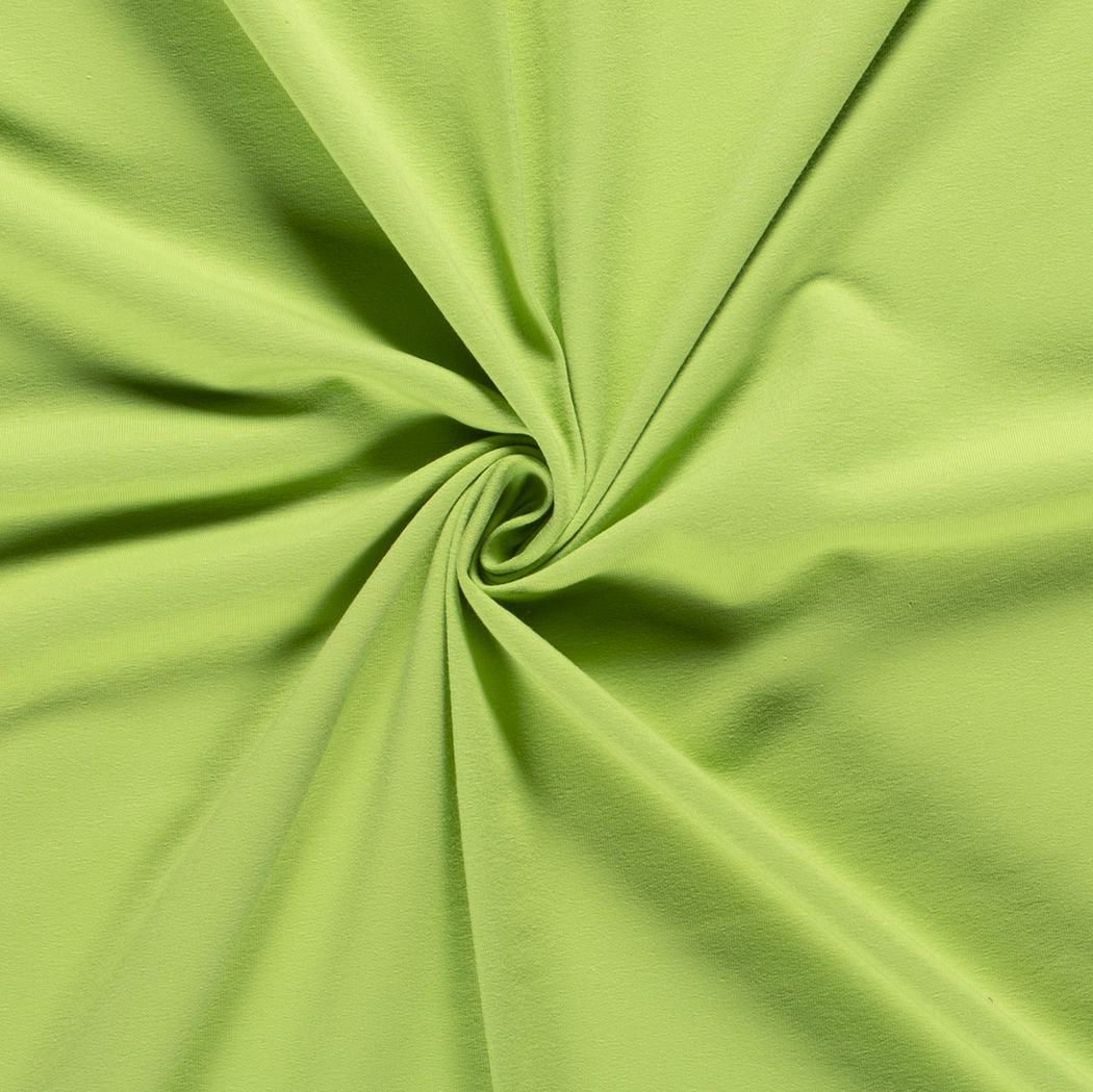 Stretch French Terry, Lime Green