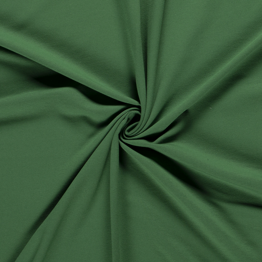 Stretch French Terry, Dark Green