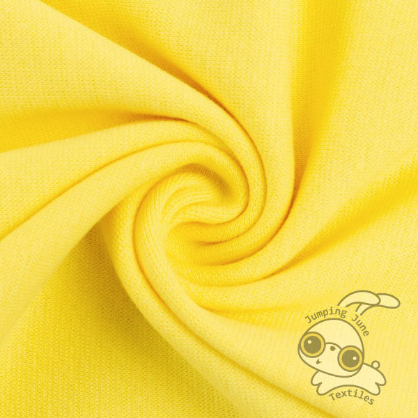 Ribbing, Lemon *Limited Spring Collection* 240 gsm