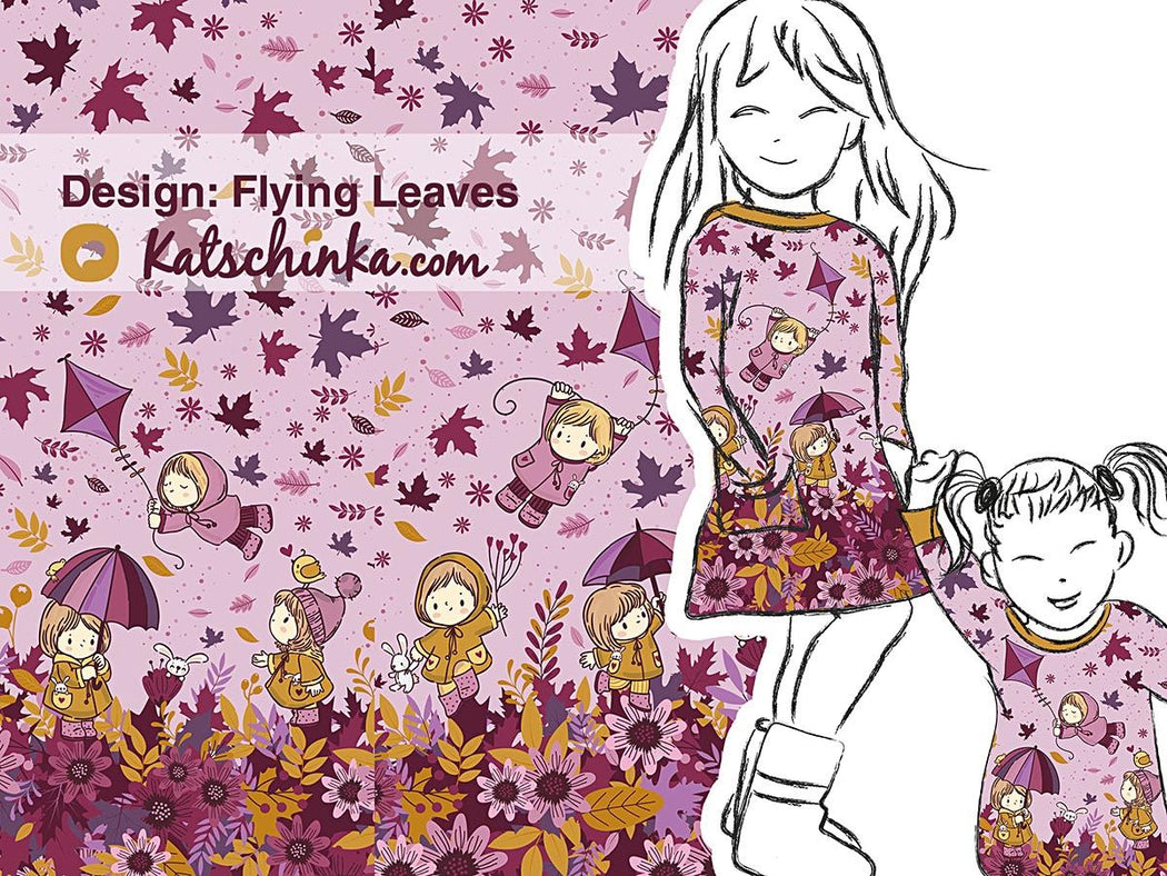 Flying Leaves Organic Stretch French Terry RAPPORT