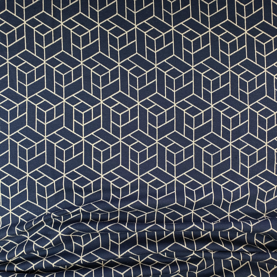 Cozy Collection Box Jacquard, Navy