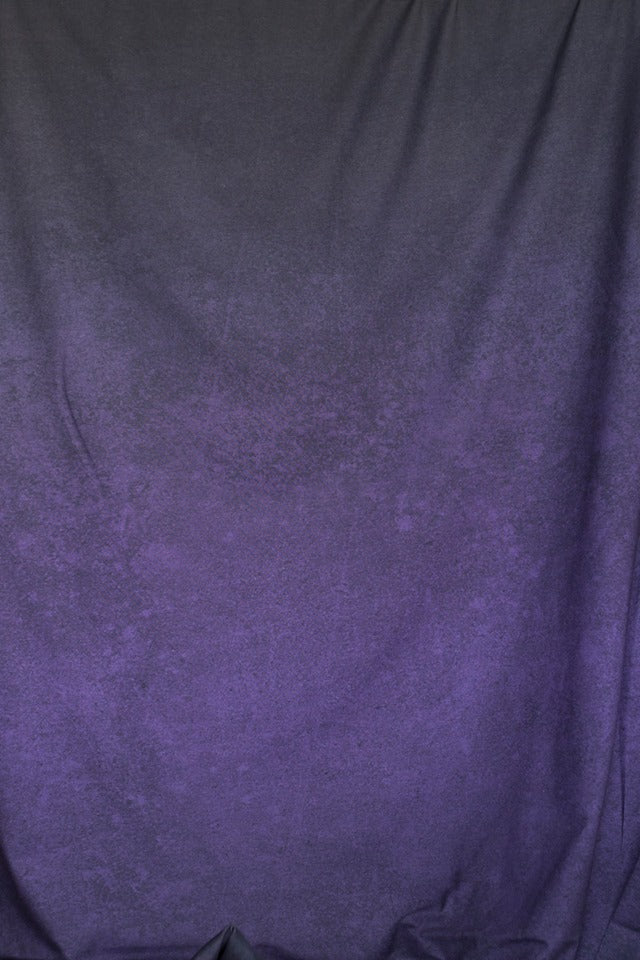 Gradient LeatherLook Organic Jersey, Dark Violet
