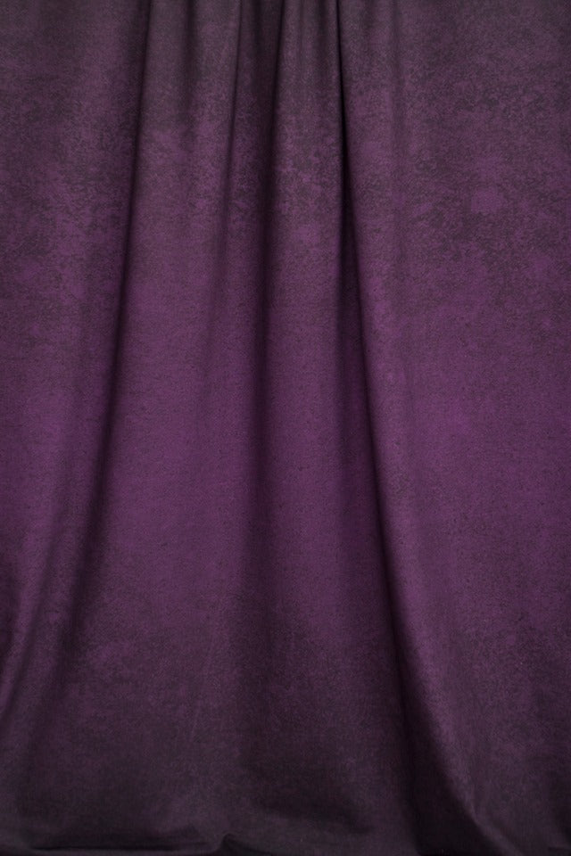 Gradient LeatherLook Organic Jersey, Fresh Plum