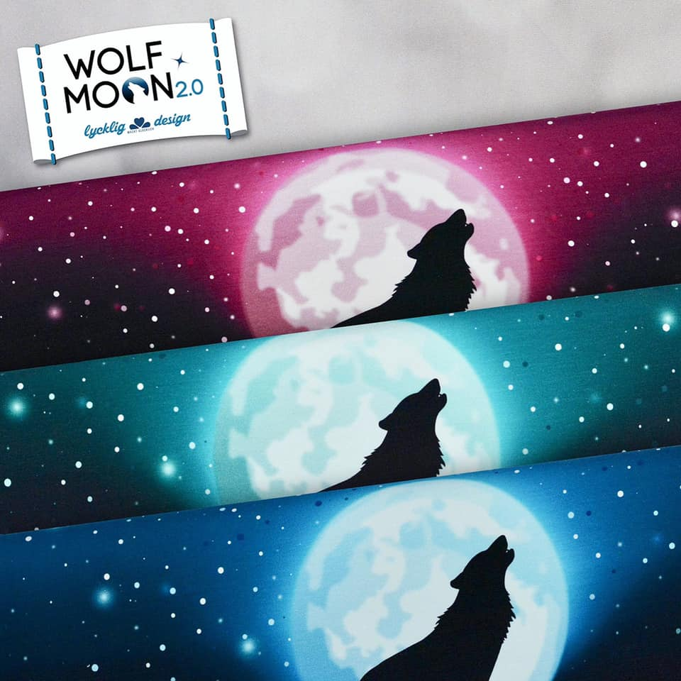 Wolf Moon 2.0 Stretch French Terry RAPPORT, Teal